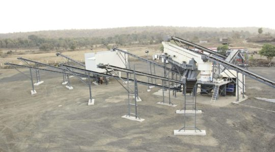 Complete Crushing And Screening Plant